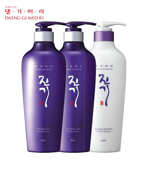 Vitalizing Shampoo 500ml x 2 pcs + Treatment 500ml x 1pc set